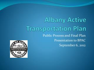 Albany Active Transportation Plan