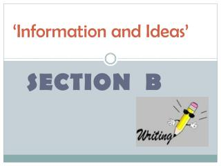 'Information and Ideas'