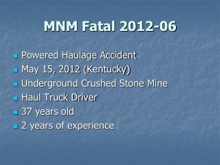 MNM Fatal 2012-06