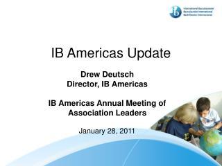 IB Americas Update