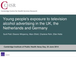 Young people's exposure to television alcohol advertising in the UK, the Netherlands and Germany