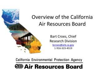 Overview of the California Air Resources Board