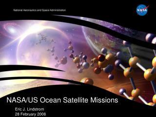 NASA/US Ocean Satellite Missions