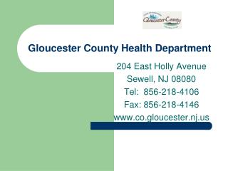 Gloucester County Health Department
