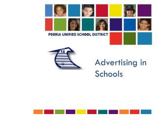 Advertising in Schools