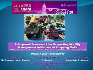 A Proposed Framework for Supporting Mobility Management Initiatives at Shopping Malls