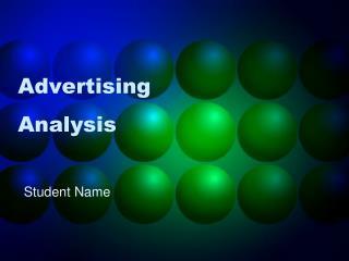 Advertising Analysis