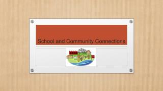 School and Community Connections
