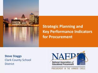 Strategic Planning and Key Performance Indicators for Procurement