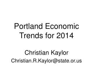 Christian Kaylor Christian.R.Kaylor@state.or