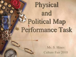 Physical and Political Map  Performance Task