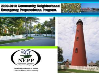 2009-2010 Community Neighborhood Emergency Preparedness Program