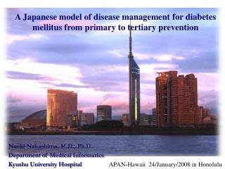 A Japanese model of disease management for diabetes mellitus from primary to tertiary prevention