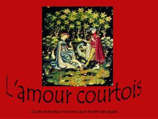 Lamour courtois