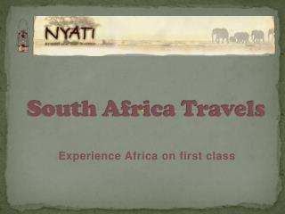 South Africa Travels