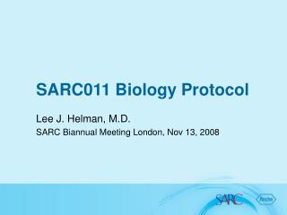 SARC011 Biology Protocol