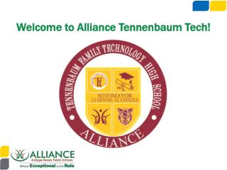Welcome to Alliance  Tennenbaum  Tech!