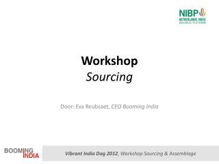 Workshop Sourcing
