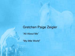 Gretchen Paige Zeigler