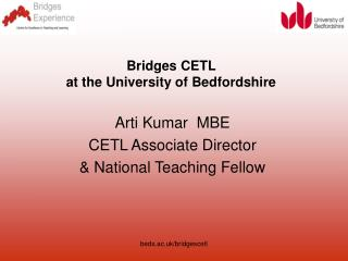 Bridges CETL  at the University of Bedfordshire