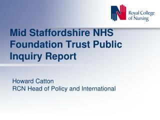 Mid Staffordshire NHS Foundation Trust Public Inquiry Report