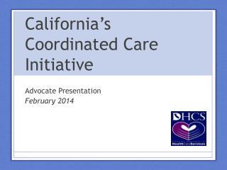 California's Coordinated Care Initiative