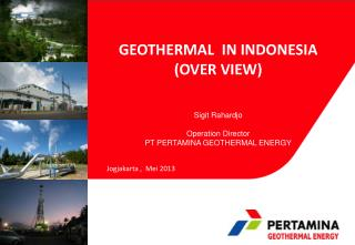 GEOTHERMAL   IN INDONESIA (OVER VIEW)