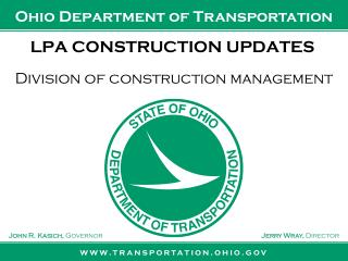 LPA CONSTRUCTION UPDATES