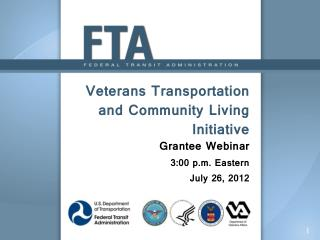 Veterans Transportation and Community Living Initiative