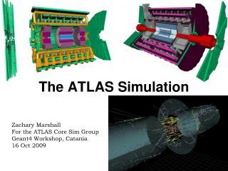 The ATLAS Simulation