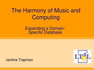 The Harmony of Music and Computing