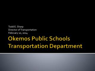 Okemos Public Schools Transportation Department