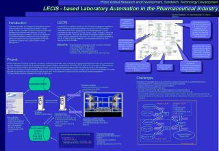 LECIS - based Laboratory Automation in the Pharmaceutical Industry