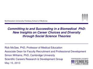 Rick McGee, PhD, Professor of Medical Education