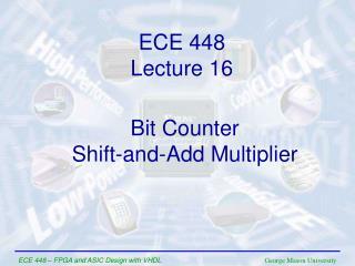 ECE  448 Lecture  1 6