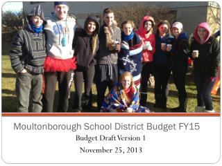Moultonborough School District Budget FY15