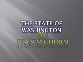 The State of Washington