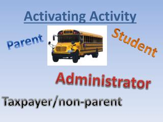 Activating Activity