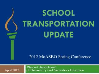 School Transportation Update