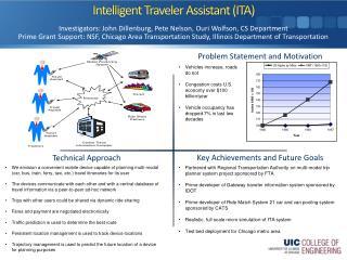 Intelligent Traveler Assistant (ITA)