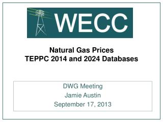 Natural Gas Prices  TEPPC 2014 and 2024 Databases