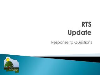 RTS Update