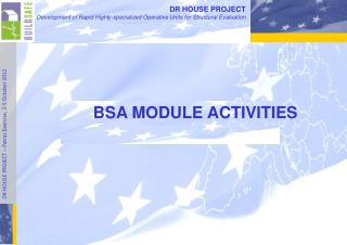 BSA MODULE ACTIVITIES