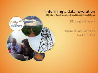 IDR progress report