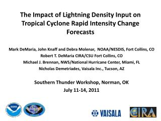 The Impact of Lightning Density Input on Tropical Cyclone Rapid Intensity Change Forecasts