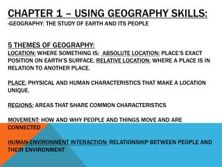 Human Geographer: Study people and their activities.