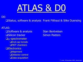 ATLAS & D0