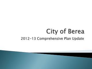 City of Berea