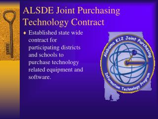 ALSDE Joint Purchasing Technology Contract