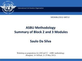 SIP/ASBU/2012 -WP/12